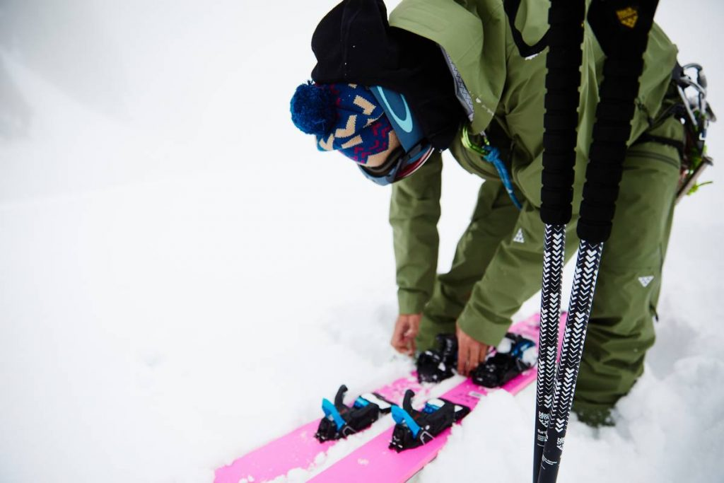 taille baton de ski telescopique