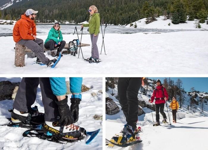 choisir chaussures raquettes neige