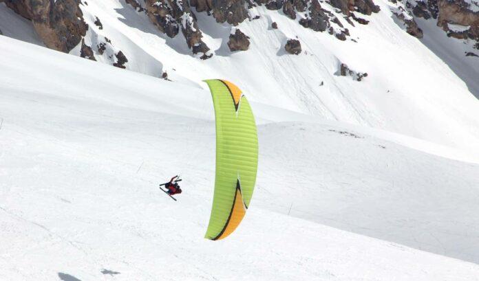bapteme-ski-parapente